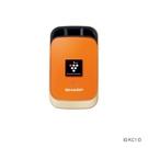 【SHARP 夏普】個人隨身PCI 自動除菌離子產生器/清淨機 橙橘黃 IG-KC1-D
