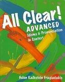 二手書博民逛書店《All Clear! Advanced: Idioms and Pronunciation in Context》 R2Y ISBN:083844721X
