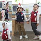 韓版《小雞寶寶款》造型刷毛小外套...
