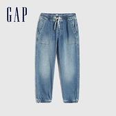 Gap男童 柔軟做舊水洗牛仔褲 669866-淺色水洗
