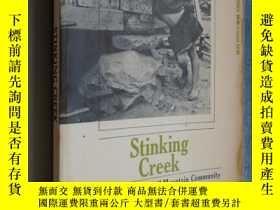 二手書博民逛書店Stinking罕見Creek: The Portrait of a Small Mountain Communi