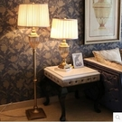 落地燈美式客廳奢華玻璃水晶婚慶創意時尚間約臥室臺燈歐式落地燈