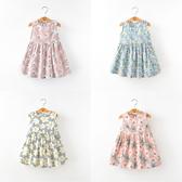 Baby童衣 新款兒童寶寶滿版印花公主裙 童裝女童背心裙 88126