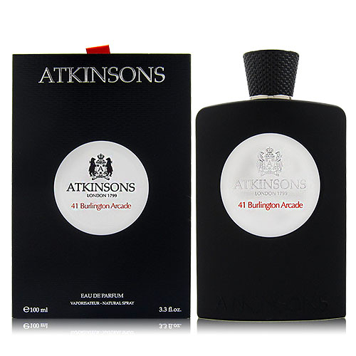 ATKINSONS 41 BURLINGTON ARCADE 伯靈頓拱廊41號 EDP 100ML 贈同品牌隨機針管3入.小蠟燭1入 [QEM-girl]