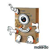 澳洲 Makedo 美度扣 裝飾創意 - 怪物臉型 21pcs