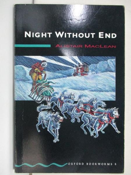 【書寶二手書T1/原文小說_CRA】Night without End_Alistair MacLean