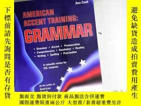 二手書博民逛書店American罕見Accent Training: GrammarY204315 Ann Cook 著 B