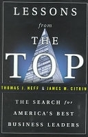 二手書博民逛書店《Lessons from the Top: The Search for America s Best Business Leaders》 R2Y ISBN:0385493436