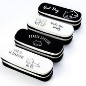 雙層文具盒 創意網紅可愛雙層文具盒簡約女孩筆袋少女心大容量筆盒小學生【限時八折】