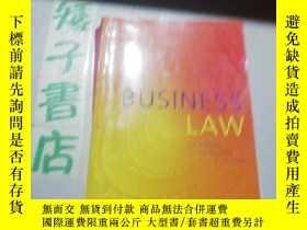 二手書博民逛書店a罕見guide to BUSⅠNESS LAWY244730
