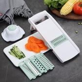多功能家用土豆絲切絲器切菜機神器蘿卜擦絲切片器刨絲器廚房用品 亞斯藍