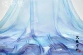 布料【瀾色】 獨家定制 水墨畫印花雪紡 DIY時裝漢服面布料-樂享生活館