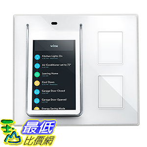 [美國直購] Wink PRLAY-WH01-CK Relay - Smart Home Wall Controller