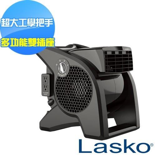 【美國 Lasko】AirSmart黑武士渦輪循環風扇 U15617TW