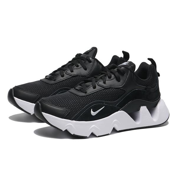 (偏小建議大半號) NIKE 休閒鞋 RYZ 365 II 黑 麂皮 網布 鋸齒 孫芸芸 運動 女 (布魯克林) CU4874-001
