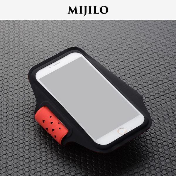 米基洛蘋果x iphone8/7 2018新款跑步手機包男運動臂包女臂帶臂套【onecity】
