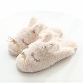棉拖鞋女冬毛絨家居鞋室內可愛靜音毛毛拖鞋家用秋冬保暖托鞋厚底 晟鵬國際貿易
