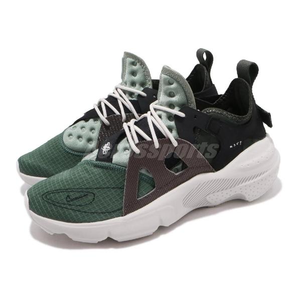 Nike 休閒鞋 Huarache-Type 綠 黑 男鞋 運動鞋 N354 【ACS】 BQ5102-300