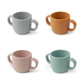丹麥 DONE BY DEER 矽膠餐杯立體Croco(4色可選)水杯/喝水杯
