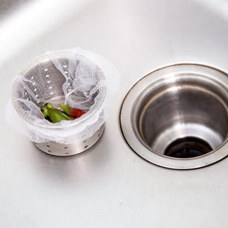 排水口殘渣濾網 100入裝 水槽過濾網 廚房 水槽 菜渣 防堵塞 排水口 一次性 排水口 過濾網