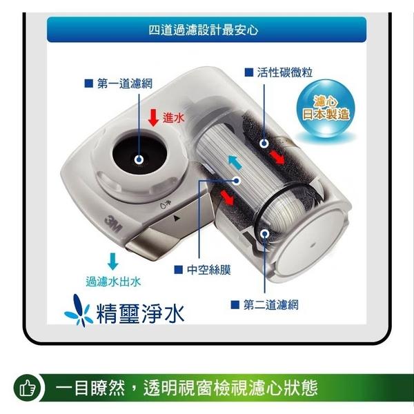 3M Filtrete AC300 中空絲膜龍頭式淨水器-替換濾芯(AC300-F)
