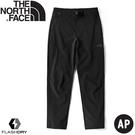【The North Face 男 彈性快乾長褲《黑》】46L1/休閒長褲/戶外/登山/運動長褲