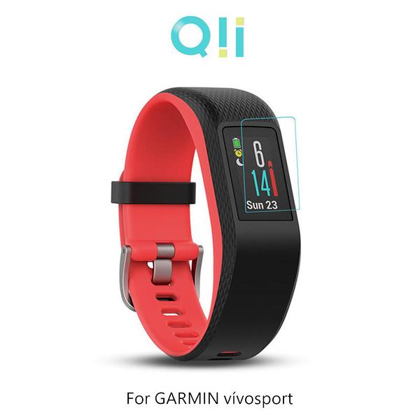 【愛瘋潮】Qii GARMIN vívosport 玻璃貼 (兩片裝) 手錶保護貼