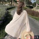 防曬衣 2021夏新款巴厘島海邊度假輕薄壓褶雪紡開衫女中長薄款寬鬆防曬衣 愛丫 免運