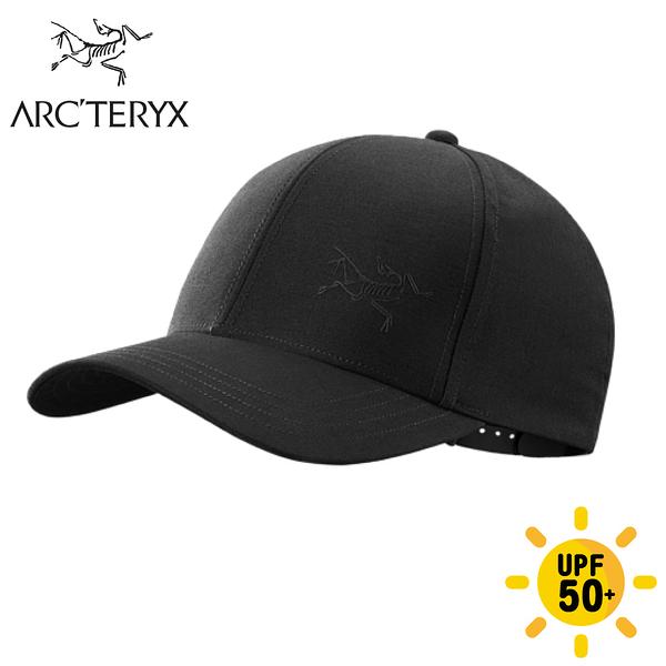 【ARC'TERYX 始祖鳥 Bird 棒球帽《黑》】25633/鴨舌帽/防曬帽/休閒帽