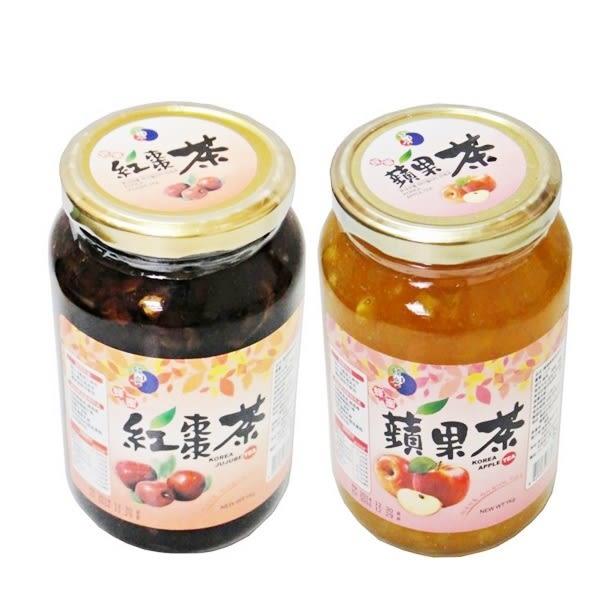 特價效期12/8 【2罐起限宅配】韓國蜂蜜紅棗茶 (1KG/罐) 韓國養生飲品 韓國原裝進口