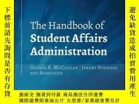 二手書博民逛書店The罕見Handbook of Student Affairs Administration, 4th Edit