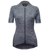 【亞特力士ATLAS】 女舒適款短袖車衣-摩登灰 24℃~30℃ WJF-313-GY