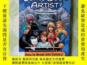 二手書博民逛書店SO,YOU罕見WANNA BE A COMIC BOOK AR