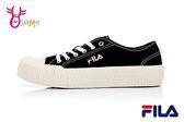 FILA BISCUIT 成人女款 中性餅乾帆布鞋 休閒鞋 D9915#黑色◆OSOME奧森鞋業