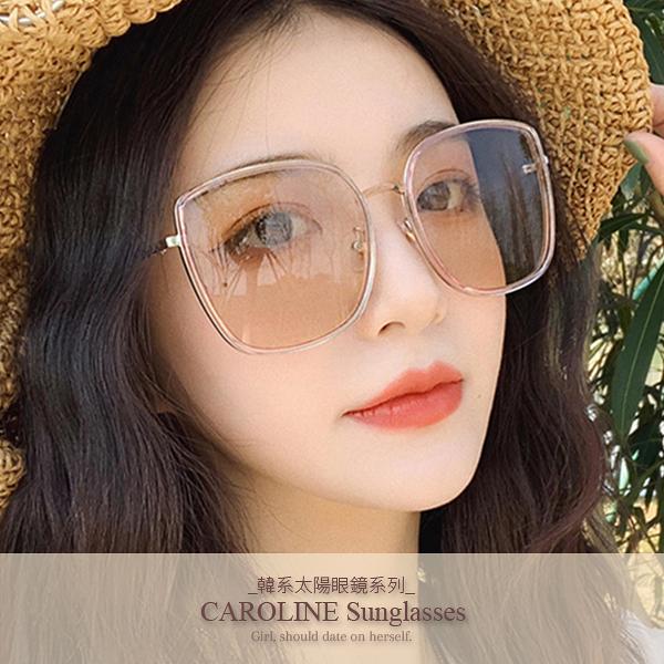 《Caroline》年度最新網紅款潮流百搭抗UV時尚太陽眼鏡 72198