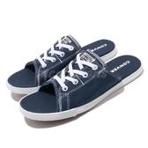 Converse 涼拖鞋 Chuck Taylor All Star Cute Evo 藍 丹寧 帆布 女鞋 男鞋 150249C