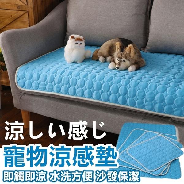 [M號] 寵物涼感平鋪墊 寵物睡墊 寵物涼墊 狗狗涼墊 涼感 降溫 寵物用品 狗墊 貓墊【RS953】