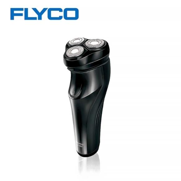 【超人百貨X】FLYCO 飛科 三刀頭電動刮鬍刀 FS370 可直接水洗,乾溼兩剃