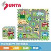 SUNTA EVA樂扣遊戲墊-城市交通-32x32x1cm(9片裝)