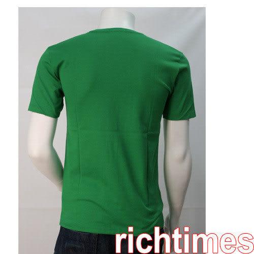 Burberry綠色圓領T恤BB3A0456