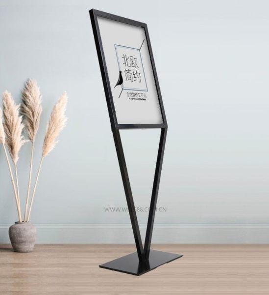 廣告牌 展示牌立式指示牌 KT板展架落地pop海報架立牌水牌展示架