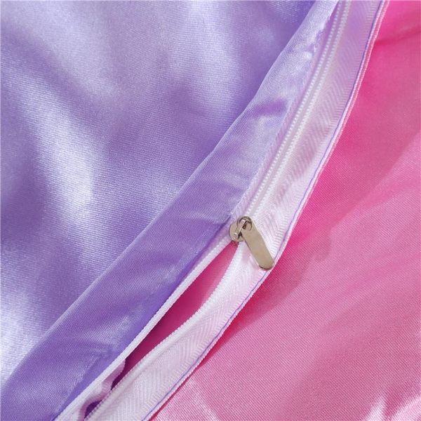 夏季冰絲四件套貢緞天絲純素色床單床上用品GZG2343【每日三C】