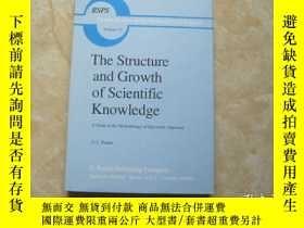二手書博民逛書店the罕見structure and growth of scientific knowledgeY17914