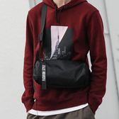 斜背包 斜背包男潮包土酷包嘻哈復古街頭側背包蹦迪包圓筒小背包【韓國時尚週】
