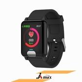【JSmax】JSmax SW-E04H8 智慧AI多功能健康管理手環黑色