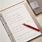 活頁筆記本可拆卸線圈錯題網格本商務記事本【奇趣小屋】