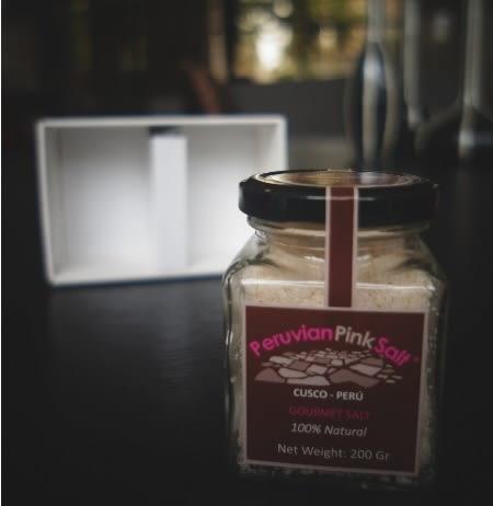 Maras Gourmet 瑪雅氏粉紅鹽 200g/罐