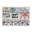 宇宙人 毛毯 單人毯 珊瑚絨毛 新品 漫畫風 彩色 Craftholic 日本正版 該該貝比日本精品 ☆