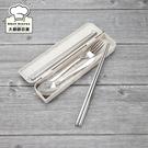 理想牌晶品316隨身餐具五件組筷子+湯匙...
