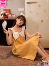 熱賣睡裙 貓人2021年新款吊帶睡裙女夏季薄款純棉甜美公主風睡衣全棉家居服 coco